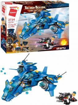 Конструктор Qman «Воздушная битва» 2714 The high-Tech Era / 406 деталей