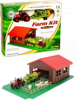 Детский игровой набор Farm Kit «Ферма с трактором» PT-418