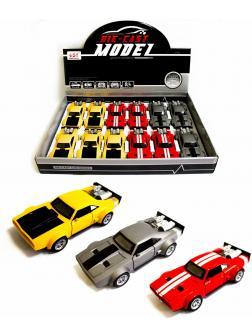 Металлическая машинка Double Horses 1:32 «Dodge Charger Ice R/T» 32401, инерционная, свет и звук / Микс