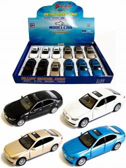 Металлическая машинка Proswon 1:32 «BMW 5» 66034 свет и звук, инерционная / Микс