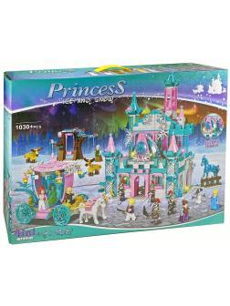 Конструктор Kazi 4в1 «Замок сказочной принцессы» KY98712 (Disney Princess) 1030 деталей