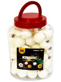 Мячики KingBecket для настольного тенниса / пинг-понга в банке, 11544