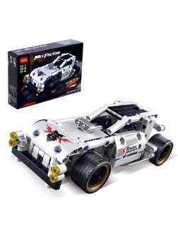 Конструктор Decool «Белый гоночный автомобиль» 3810 / 208 деталей