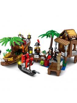Конструктор SY «Пираты: Поиски сокровищ» SY1544 / 357 деталей