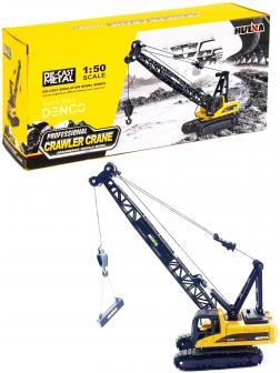 Металлический гусеничный кран Hui Na Toys 1:50 «Professional Crawler Crane» 1720