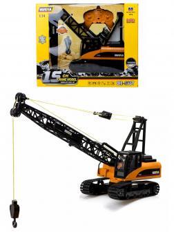 Радиоуправляемый кран Hui Na Toys 1:14 «Crane» 1572, 2.4G, металлический