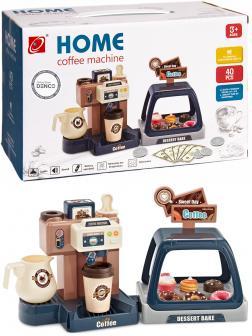Детский игровой набор Бариста «Домашняя кофемашина 3в1» 668-99 / 40 аксессуаров