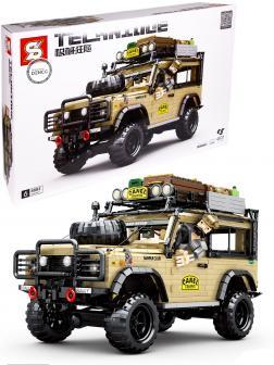 Конструктор Sheng Yuan «Внедорожник Land Rover Camel Trophy» 8883 / 4631 деталь