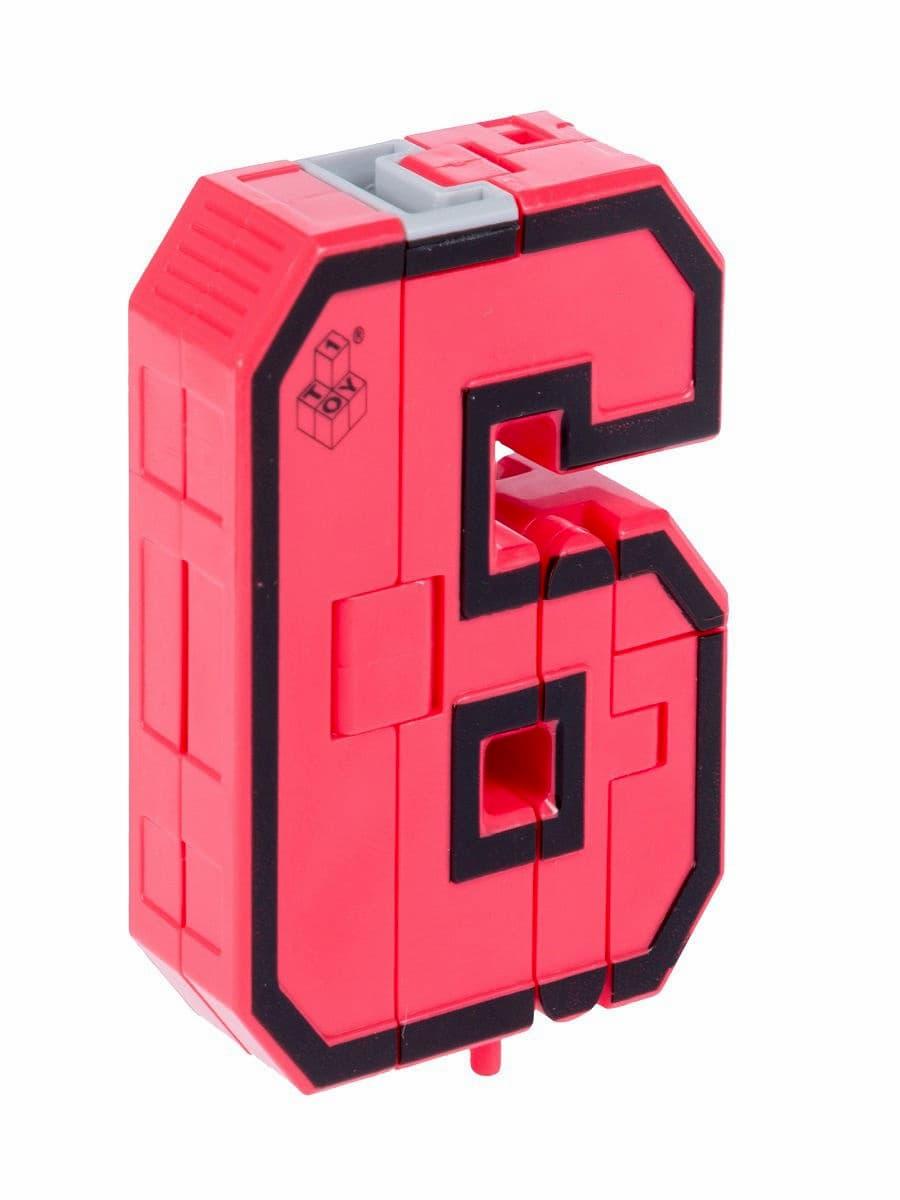 Набор из 15 Трансботов Боевой Расчет «Мегабот» (5 символов и 10 Цифр) от 1TOY