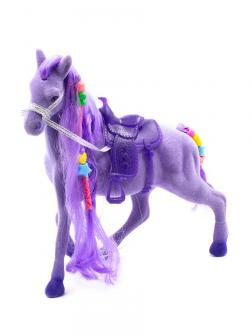 Кукольная фигурка Лошадка Принцессы 17 см. 3308 / Фиолетовый