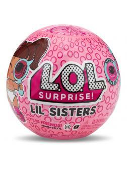 Кукла L.O.L. Surprise Lil Sisters (Кукла ЛОЛ Сестрёнки Декодер) в шаре, 552147