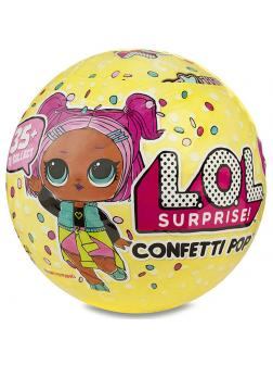 Кукла L.O.L. Surprise Confetti Pop (Кукла ЛОЛ Конфетти), 551546