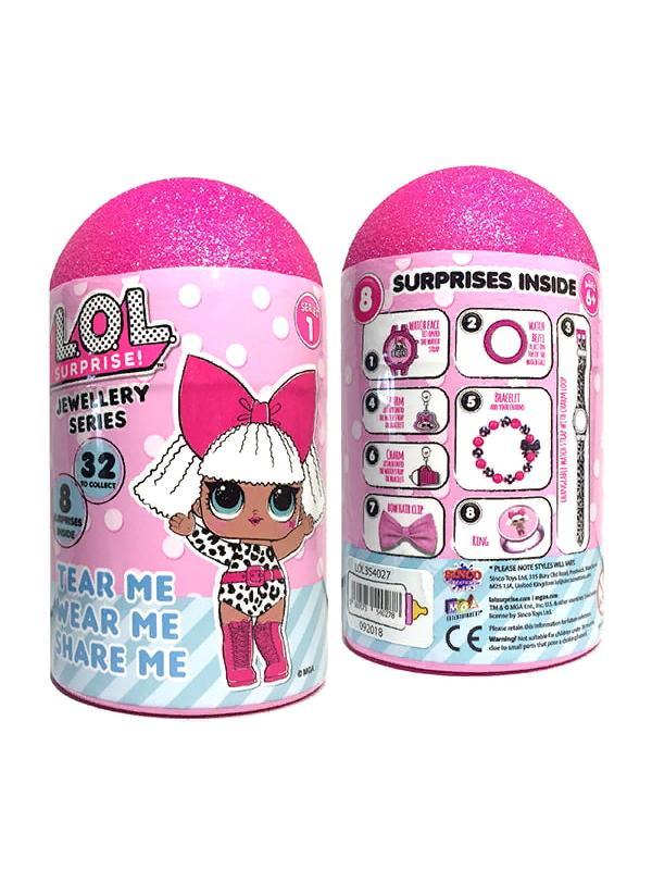 Набор украшений с часами для девочки L.O.L. Sinco Toys, 354027