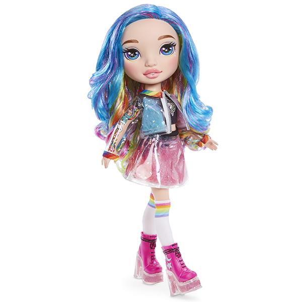 Кукла-сюрприз (розовая/радужная) «RAINBOW DREAM Slime Surprise»