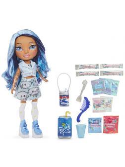 Кукла-сюрприз (голубая/фиолетовая) «BLUE SKYE Slime Surprise»