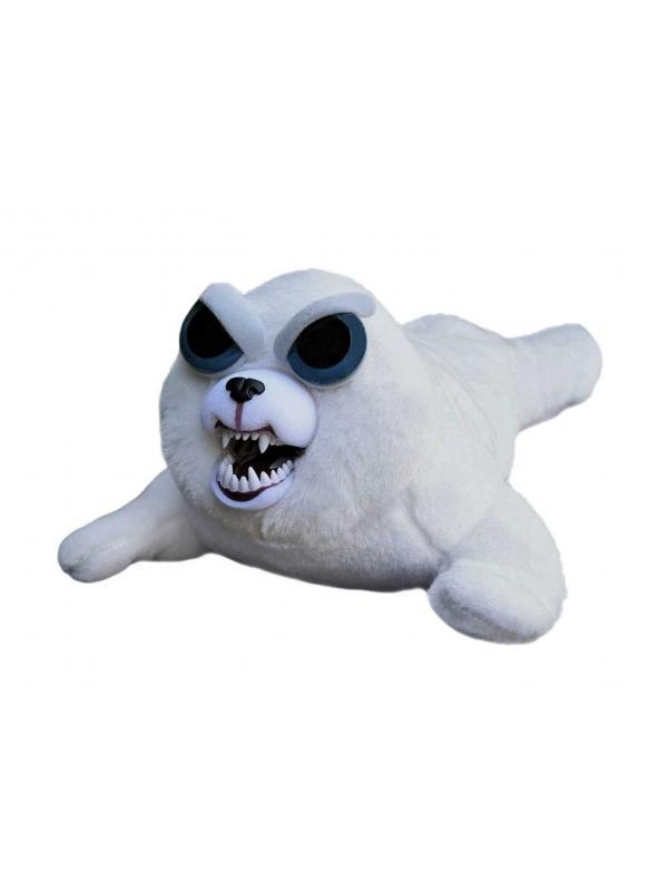 Мягкая игрушка Feisty Pets «Злой / Добрый Тюлень Тони» Хищники / 22 см.