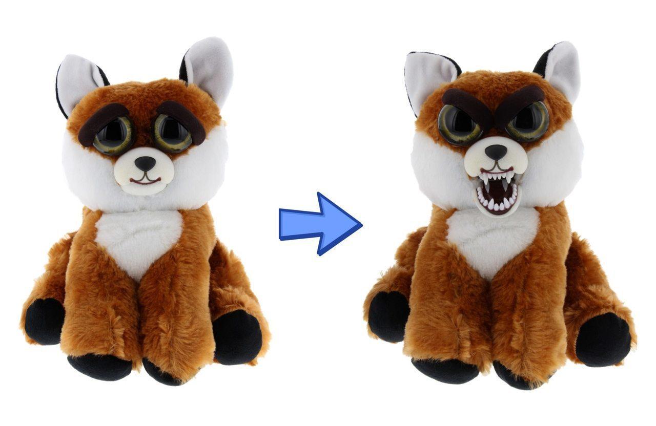 Мягкая игрушка «Злой / Добрый Лиса» Хищники 20 см.