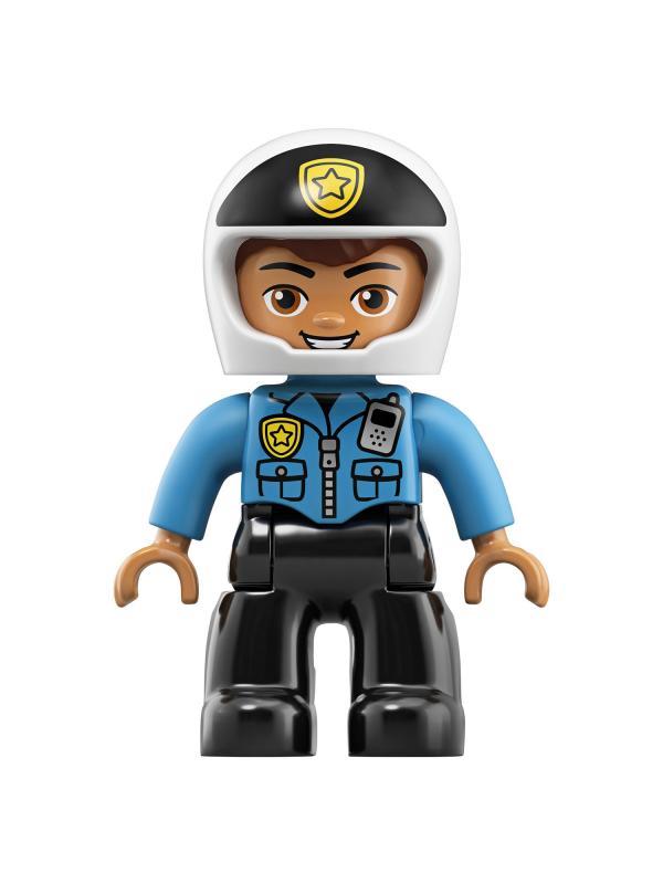Конструктор LEGO Duplo «Полицейский мотоцикл» 10900