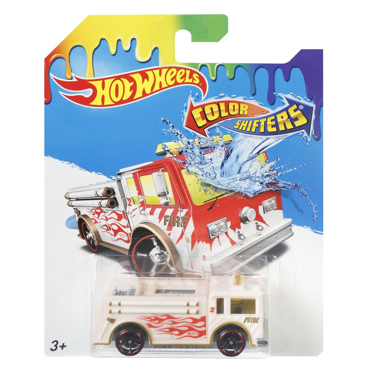 Машинка Измени цвет Hot Wheels «Fire Eater»