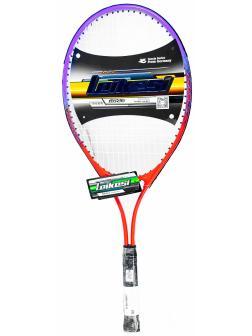 Ракетка Leikesi для большого тенниса LX-390 в чехле / оранжевая