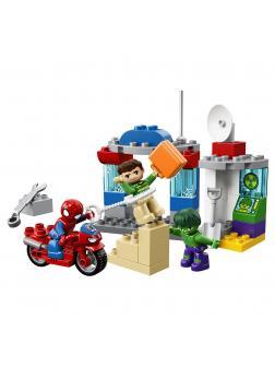 Конструктор LEGO Duplo «Приключения Человека-паука и Халка» 10876