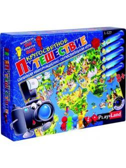 Настольная игра Play Land Борьба IQ умов Кругосветное путешествие 2.0