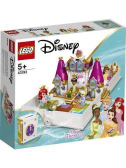 Конструктор LEGO DISNEY PRINCESS Книга сказочных приключений Ариэль, Белль, Золушки и Тианы