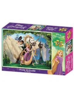 Пазл Super 3D Принцесса Рапунцель 500 элементов