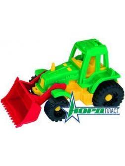 Трактор Ижора с грейдером
