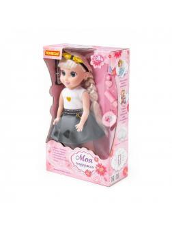 Кукла Кристина в салоне красоты 37 см, с аксесс.,6 предм., (ходит, танцует, разговаривает, поёт, рассказывает сказки, туфельки с подсветкой)