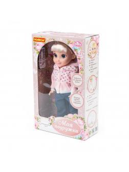 Кукла Кристина на прогулке 37 см, (ходит, танцует, разговаривает, поёт, рассказывает сказки, туфельки с подсветкой)