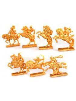 Фигурки воинов Золотая Орда