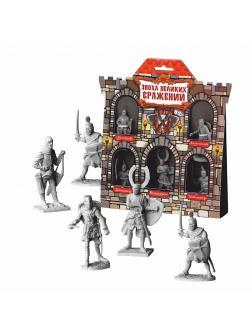 Игровой набор Крестоносцы №2 (5 фигурок)