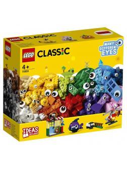 Конструктор LEGO Classic «Кубики и глазки» 11003
