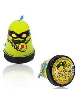 Слайм Ninja , желтый, светится в темноте