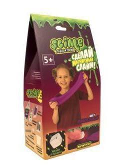 Набор малый для девочек Лаборатория ТМ Slime, фиолетовый магнитный, 100 гр.