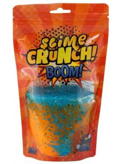 Crunch- slime BOOM с ароматом апельсина, 200 г