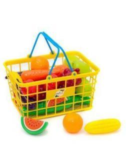 Набор Фрукты Овощи в корзинке