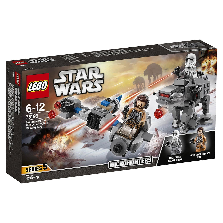 Конструктор LEGO Star Wars Бой пехотинцев Первого Ордена против спидера на лыжах 75195