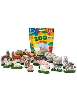 Набор дерев. ZOO PARTY Домашние животные, 18 шт