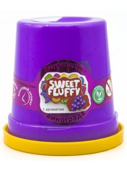 Слайм Mr.Boo Sweet fluffy Виноград, 120 гр