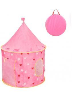 Палатка игровая Замок Принцессы, 105*105*140 см, сумка на молнии