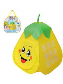 Палатка игровая Сладкая груша, 80*80*100см, сумка на молнии