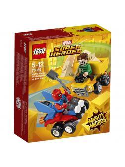 Конструктор LEGO Super Heroes Mighty Micros «Человек-паук против Песочного человека» 76089