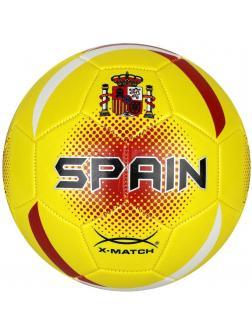 Мяч футбольный X-Match, 1 слой PVC, Испания