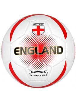 Мяч футбольный X-Match, 1 слой PVC, Англия