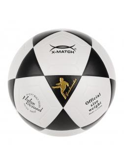 Мяч футбольный X-Match, ламинированный, PU, 400 г.