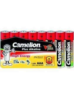 Батар. АА алкалин. Camelion Plus (Alkaline LR06 SP8, 1,5V)