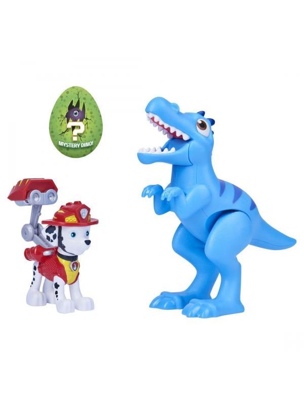 Щенячий патруль фигурка Маршала с Динозавром