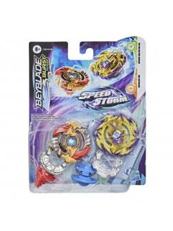 Игровой набор Hasbro BEY BLADE Два волчка Шторм